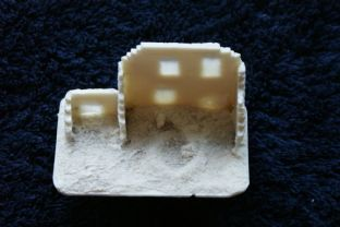 Wargames Tournaments 15mm 15/EB07 Northern European Ruined House